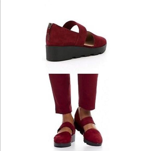 c24561c0497 Eileen Fisher Marlow Suede Platform Shoe